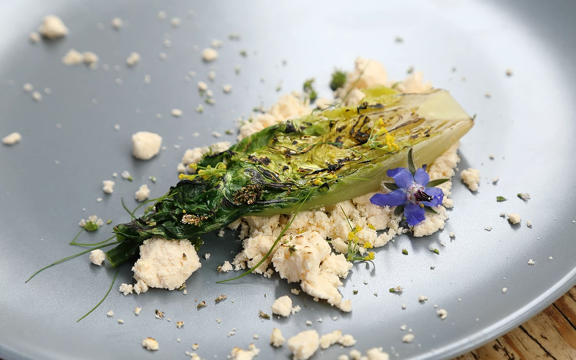 Seven course 'wild dining' experience with Shropshire chef, James Sherwin, at Manor House Stables, Malpas.
