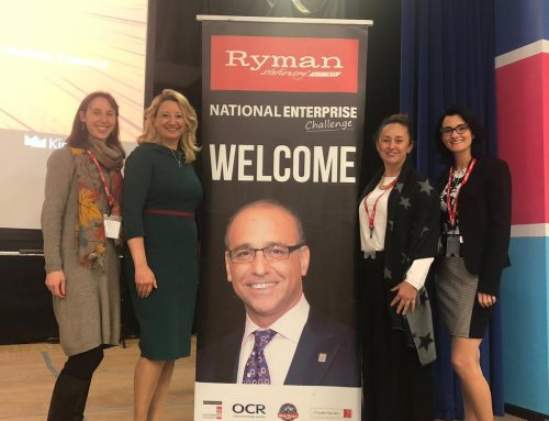 Rocket chosen to Judge at Ryman National Enterprise Challenge Final